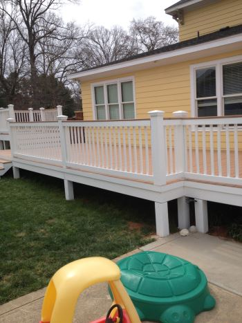 After Front Porch/Deck Staining