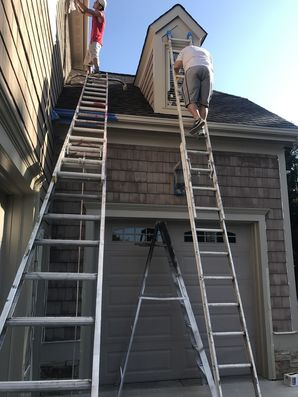 Exterior painting in Davidson, NC (1)