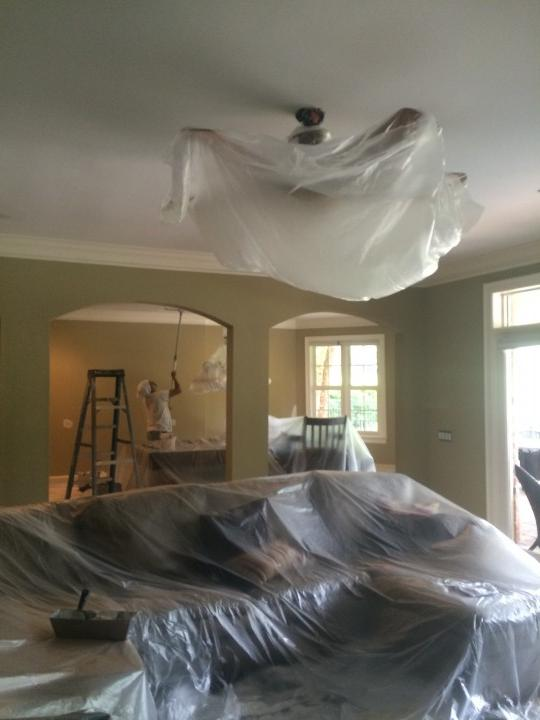 Interior House Painting in Davison, NC
