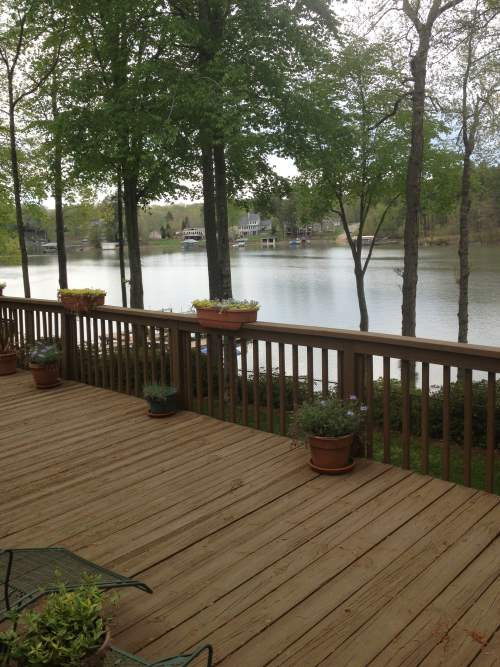 Interior Painting at Lake Norman in Mooresville, NC