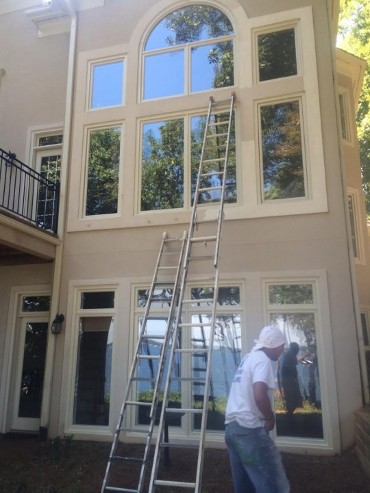 Exterior Painting in Huntersville, NC at the Peninsula Area